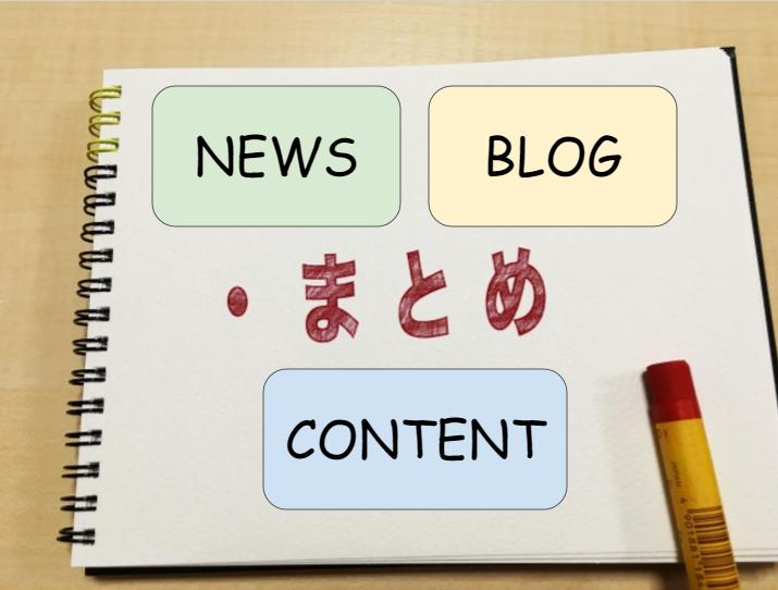 コンテンツキュレーションのブログのイメージ